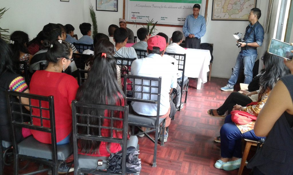 BSS Conducts Leadership Training for Adolescents with Disabilities