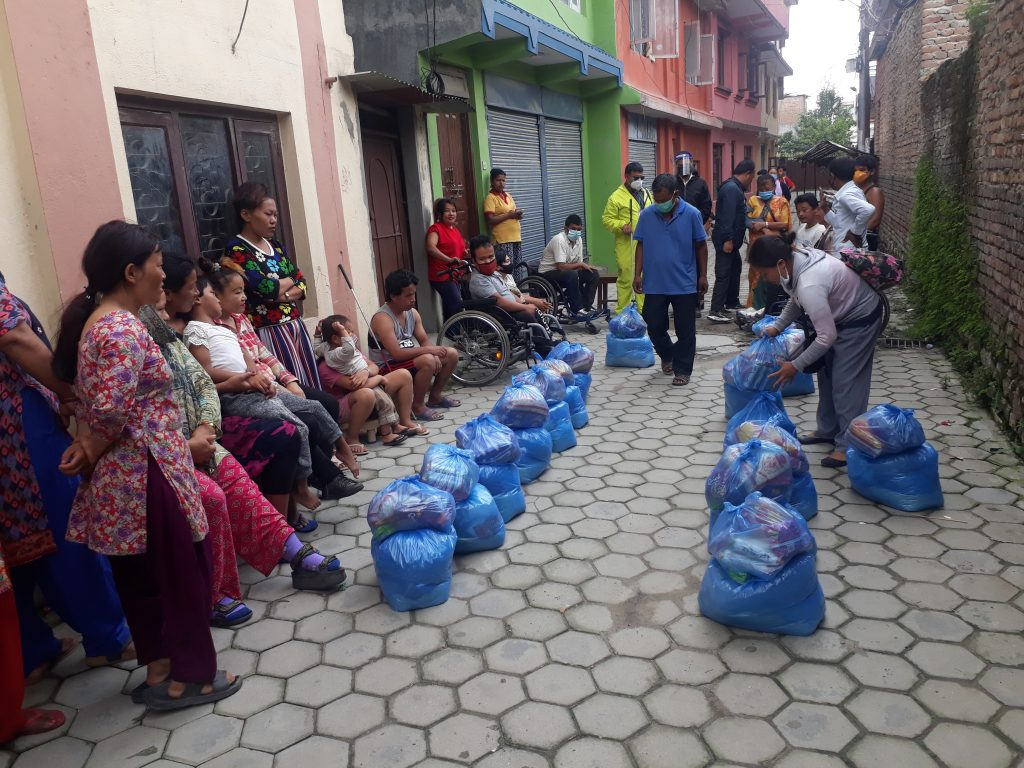 Covid19 Humanitarian works: BSS Supported Over Two Thousands Families and Nine Thousands Individuals with food Relief Campaign Across Nepal